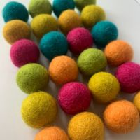 Summer Bright's Inspired Wool Felt Balls Mix (24)