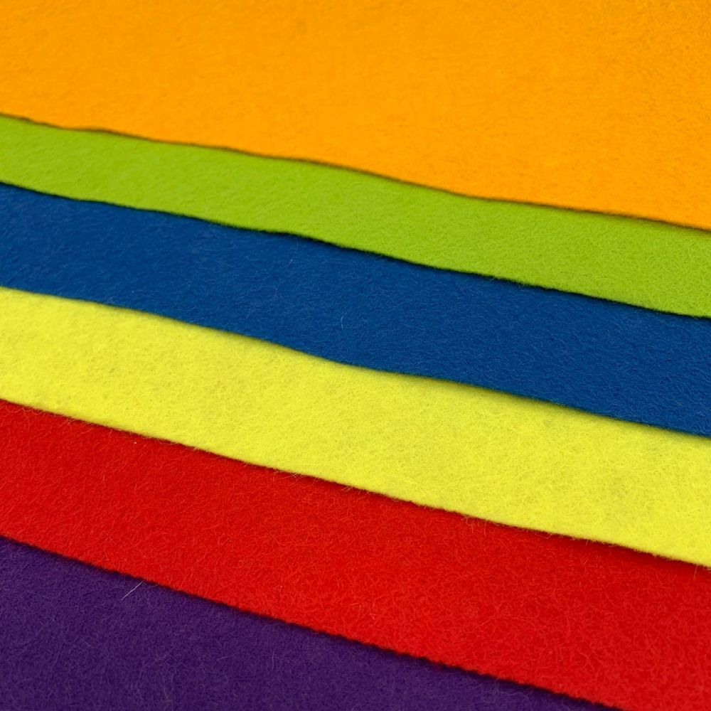 30% Wool Blend Felt Collection - Circus Bright's
