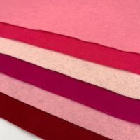 30% Wool Blend Felt Collection - Pretty in Pink