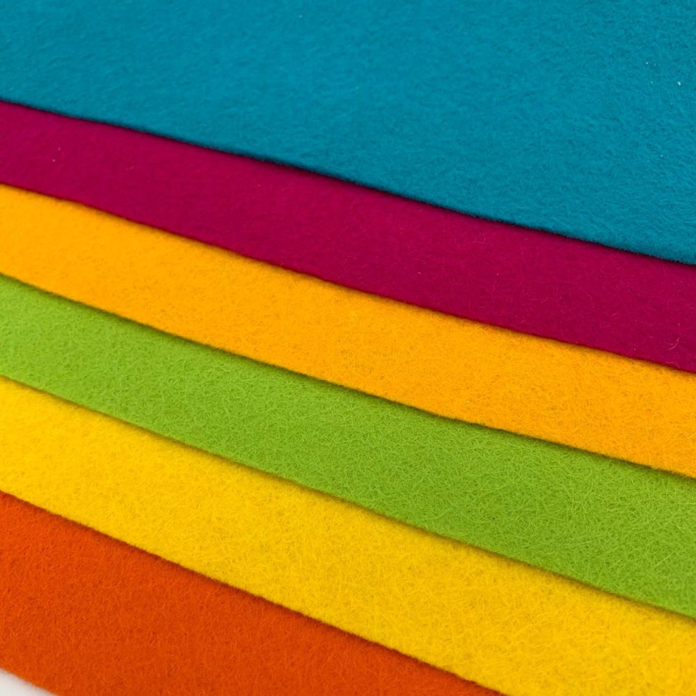 30% Wool Blend Felt Collection - Summer Bright's