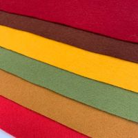 30% Wool Blend Felt Collection - Autumn
