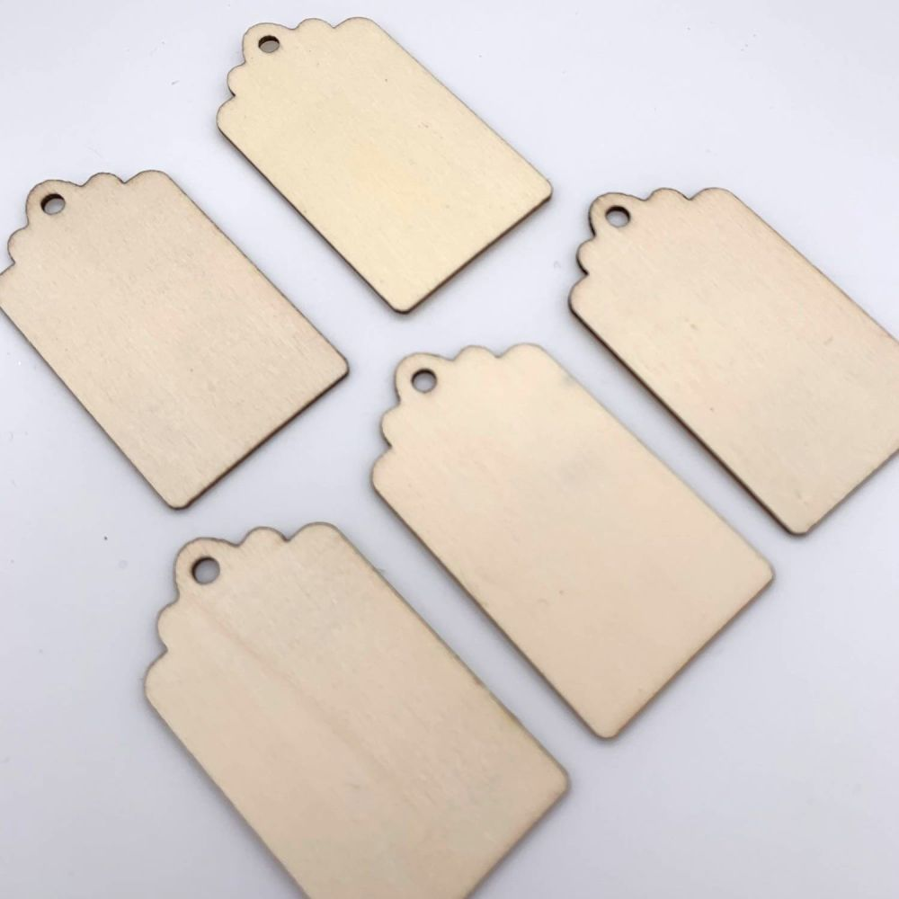 Wooden Gift Tag Embellishments