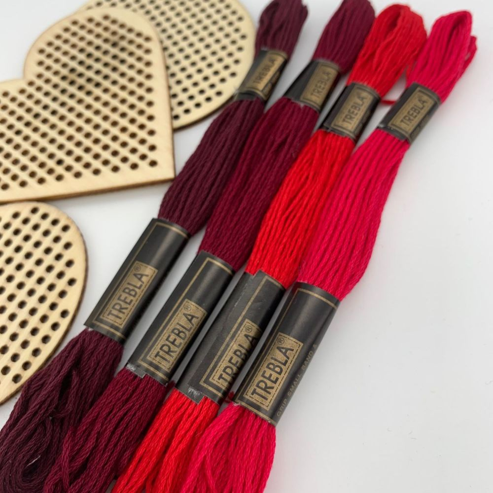 Embroidery Threads - Reds - Sold individually