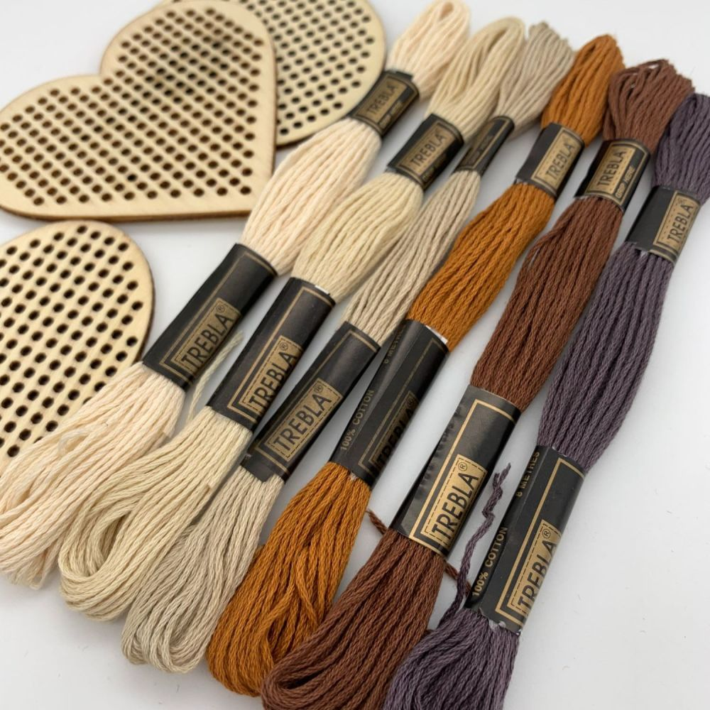 Embroidery Threads - Neutrals - Sold individually