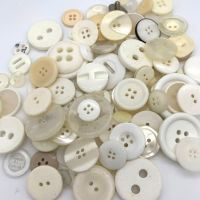 50g Assorted 'Creams' Button Mix