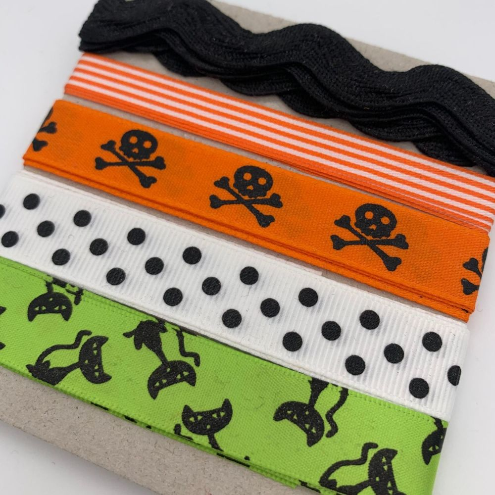 Halloween Ribbon Collection