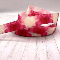 Romance Marbled grosgrain ribbon
