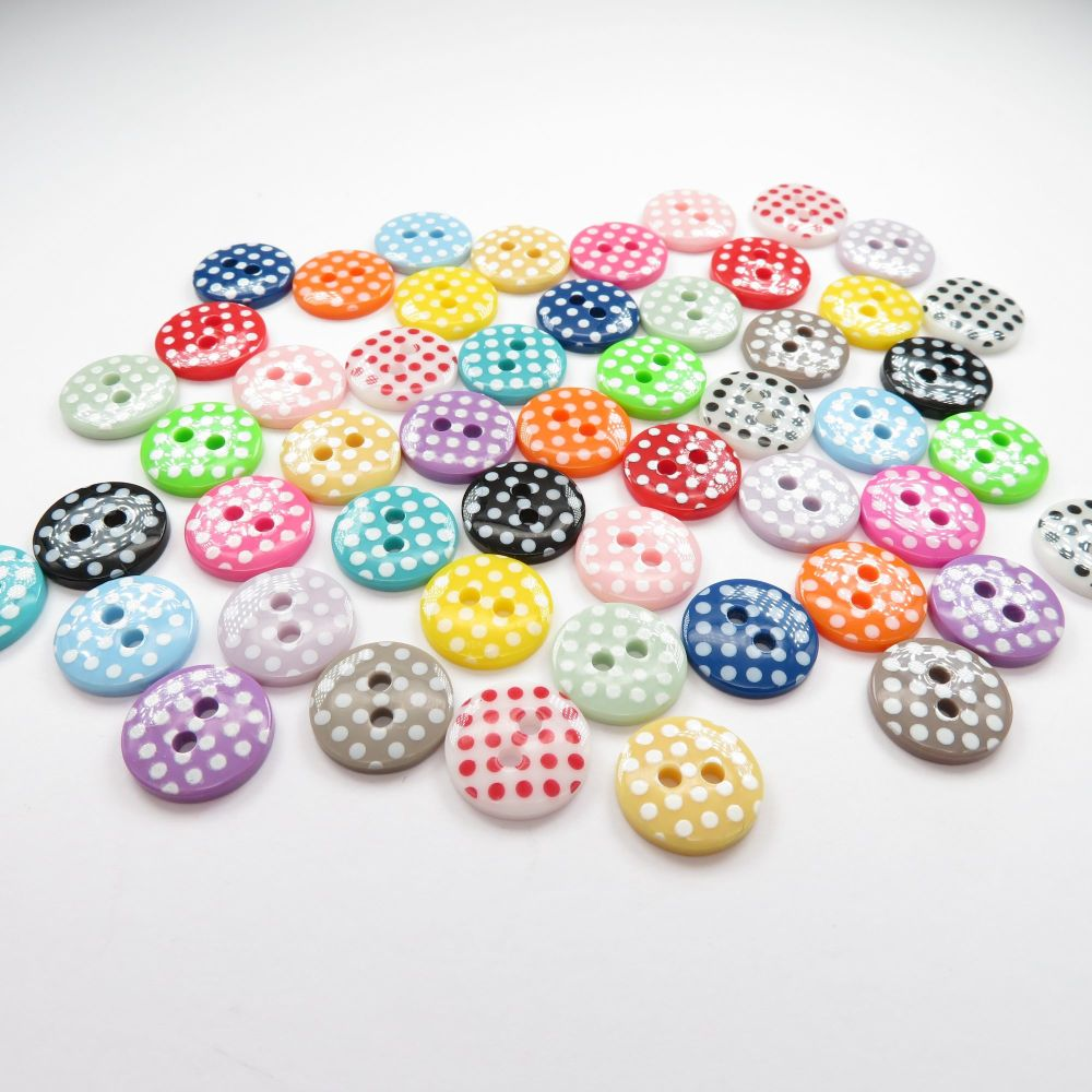 13mm Spotty Buttons