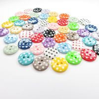 15mm Spotty Buttons