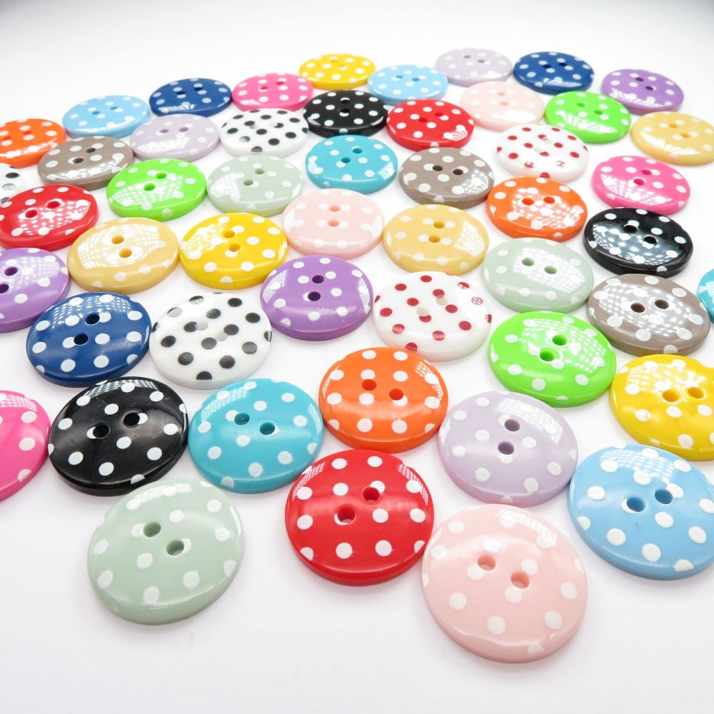 23mm Spotty Buttons