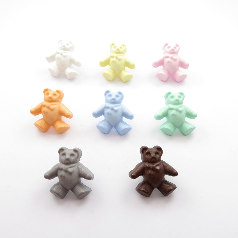 Teddy Bear Shaped Buttons