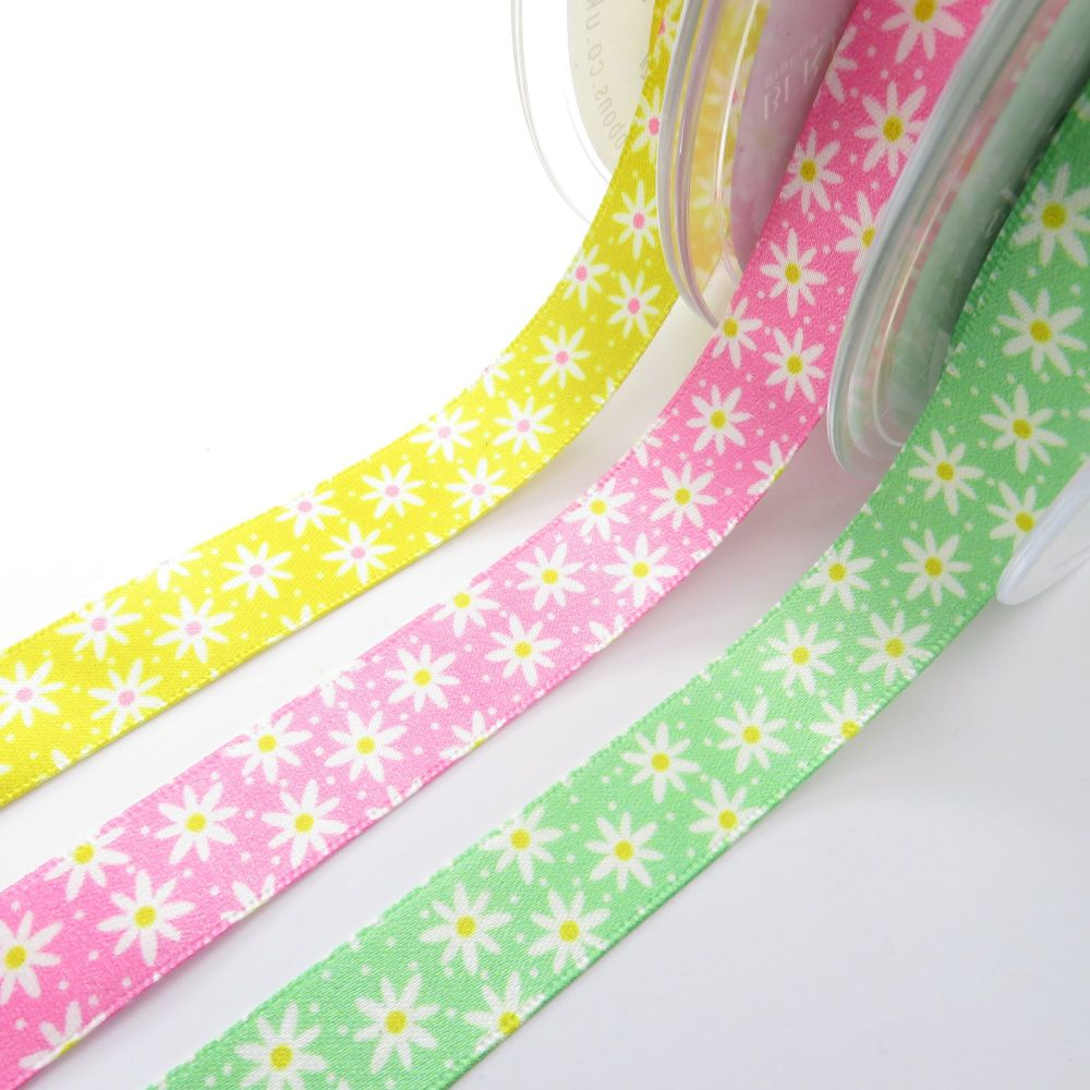 Berisford's Daisy Chain Ribbon - 3 colours