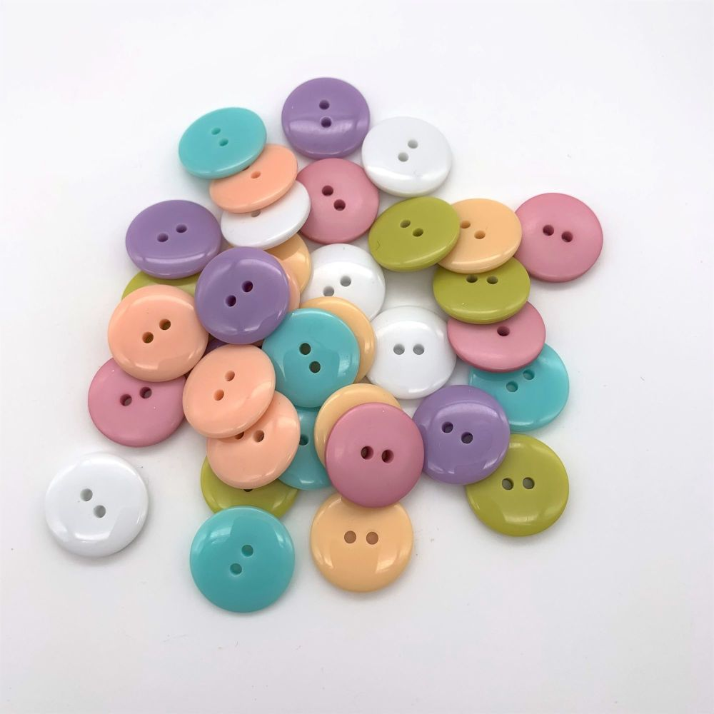 Spring Easter Glossy Buttons Collection