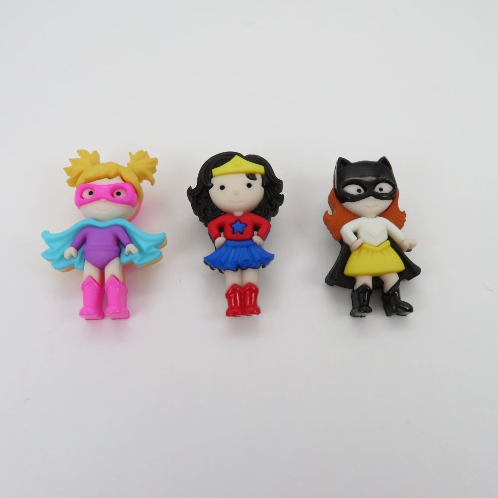 Dress It Up Button Pack - Girl Power