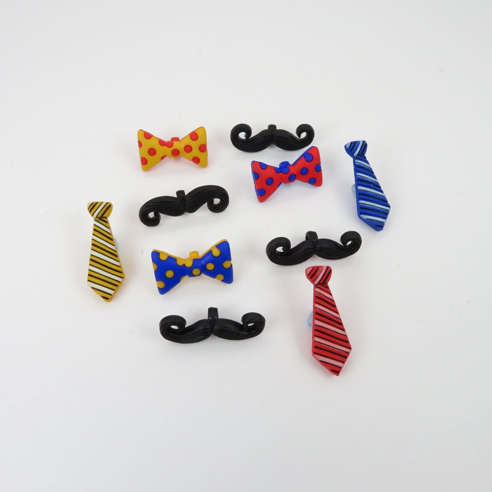 Dress It Up Button Pack - It's a Guy Thing