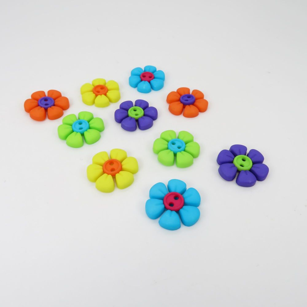 Dress It Up Button Pack - Sew Cute Button Flower