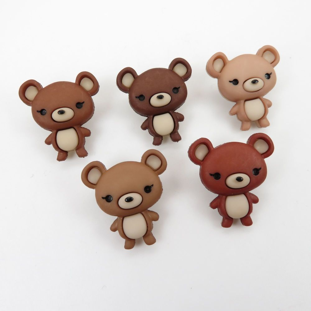 Dress It Up Button Pack - Bear Hugs