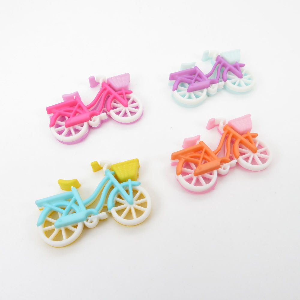 Dress It Up Button Pack - Bike Ride