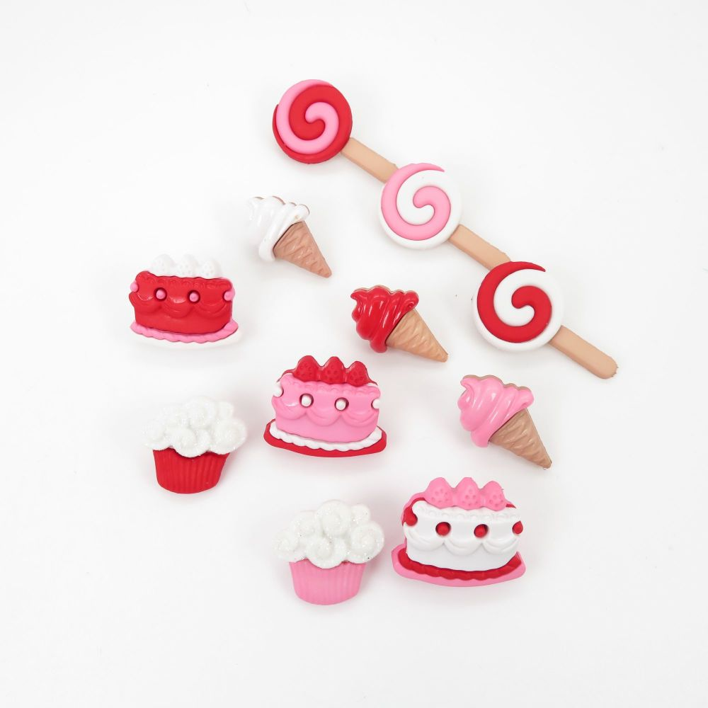 Dress It Up Button Pack - Sweet Tooth