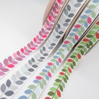 Bertie's Bows Leaf Vine Grosgrain Ribbon 16mm