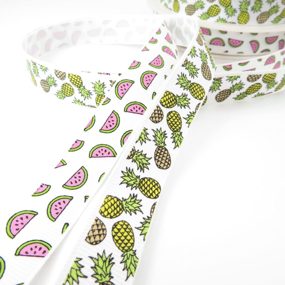 Bertie's Bows Tropical Grosgrain Ribbons
