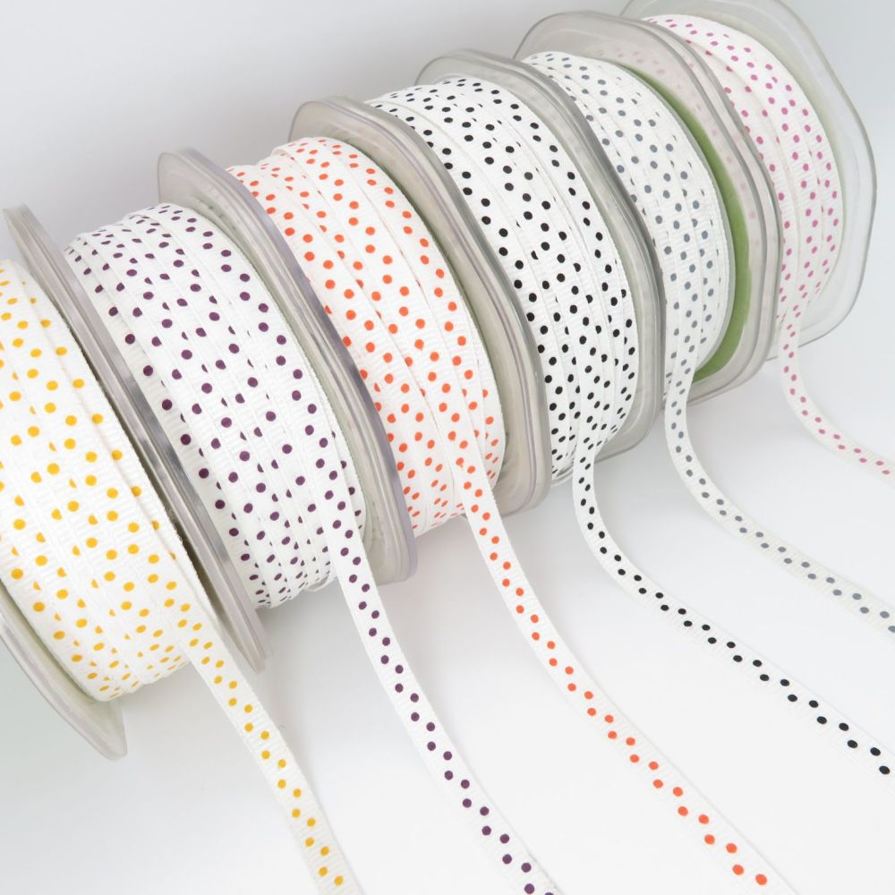 May Arts Mini Polka Dot Ribbons