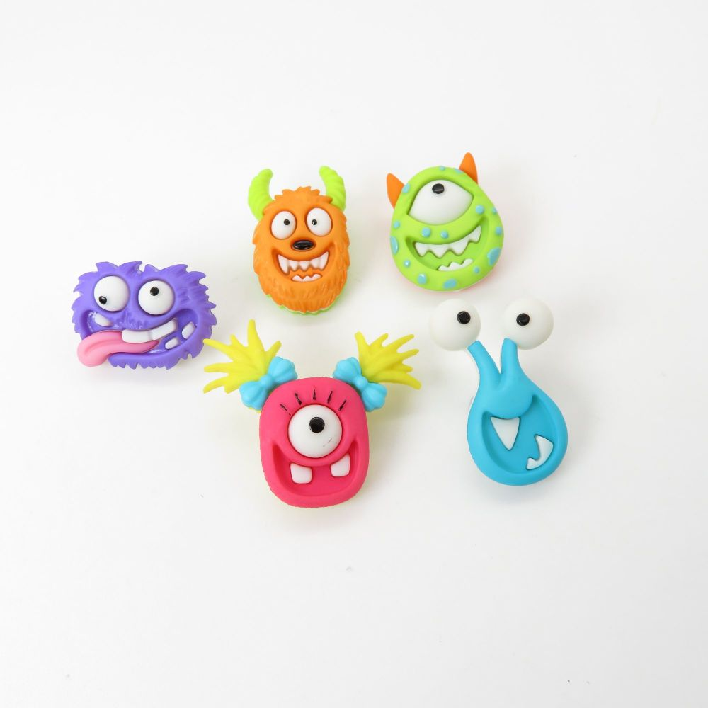 Dress It Up Button Pack - Mad for Monsters