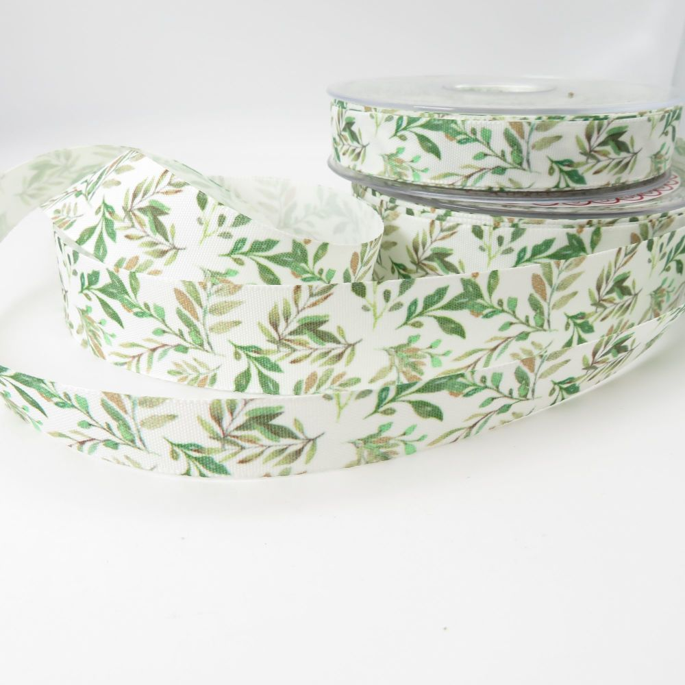 Berisford's Vine Leaf Ribbons - 2 Sizes