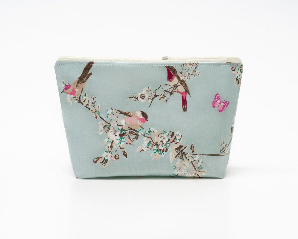 Beautiful Birds Medium Cosmetic Bag