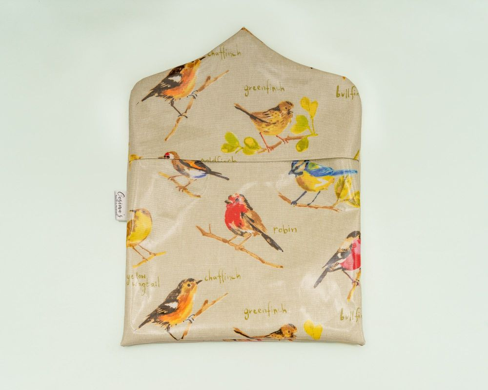 Garden Birds Peg Bag