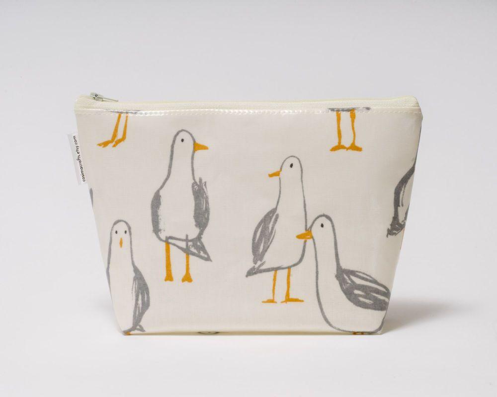 Seagull Large Cosmetic Bag