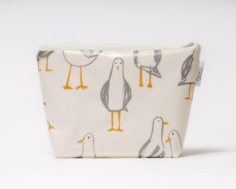Seagull Medium Cosmetic Bag
