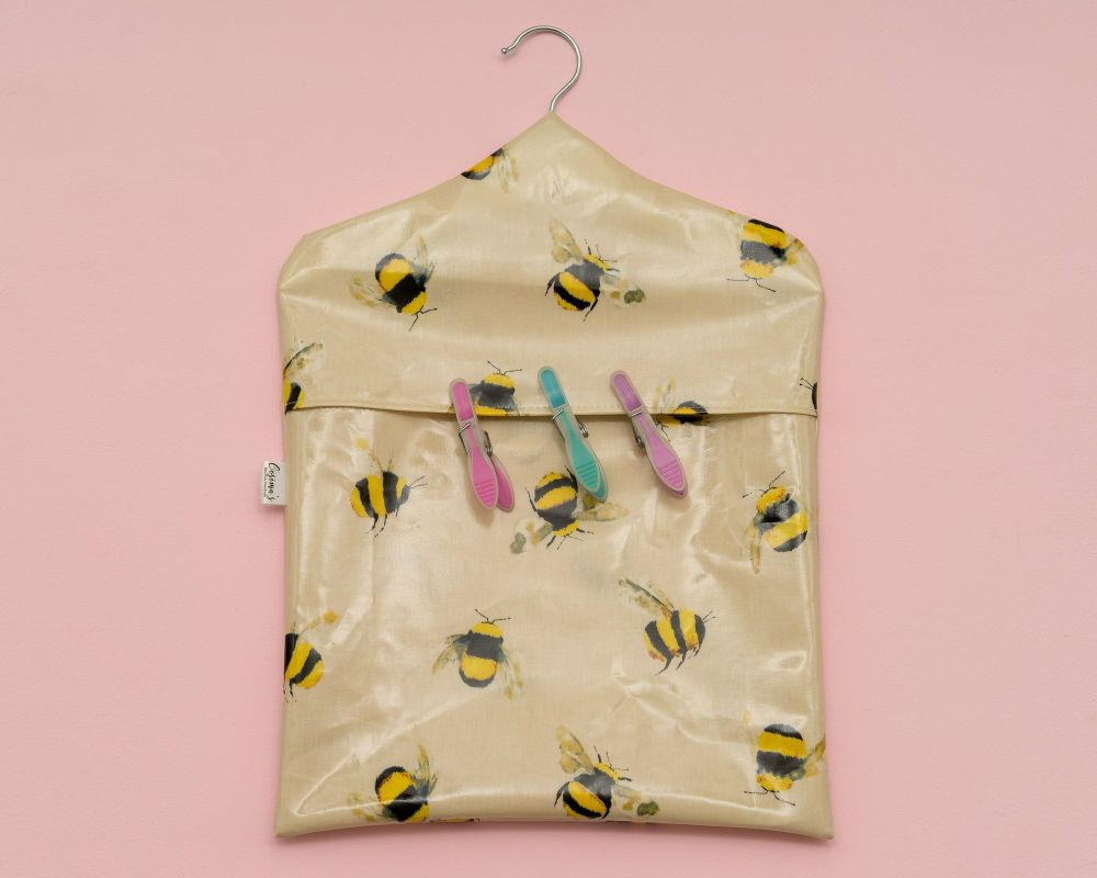 Honey Bee Peg Bag