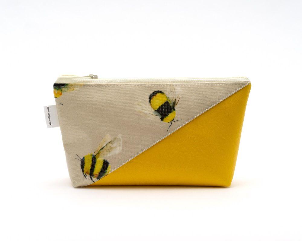 Honey Bee Make-Up Bag