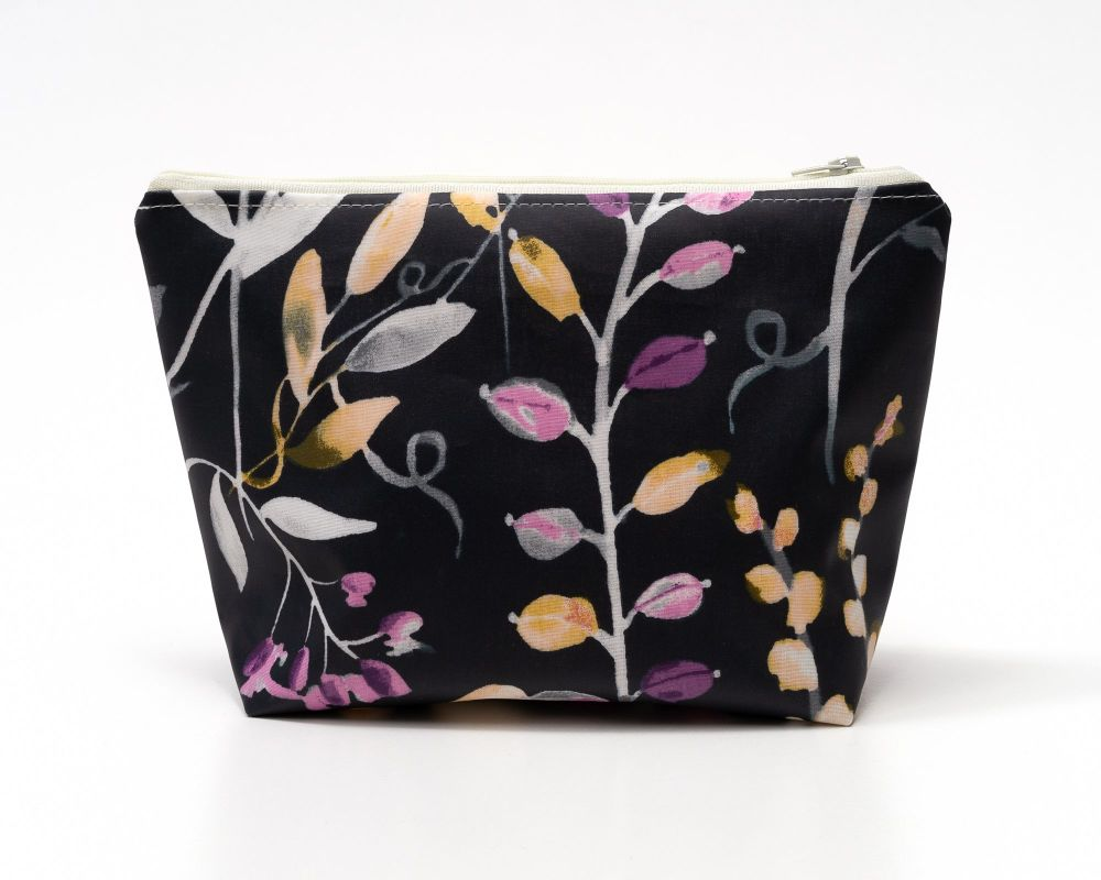 Lilies Large Cosmetic Bag
