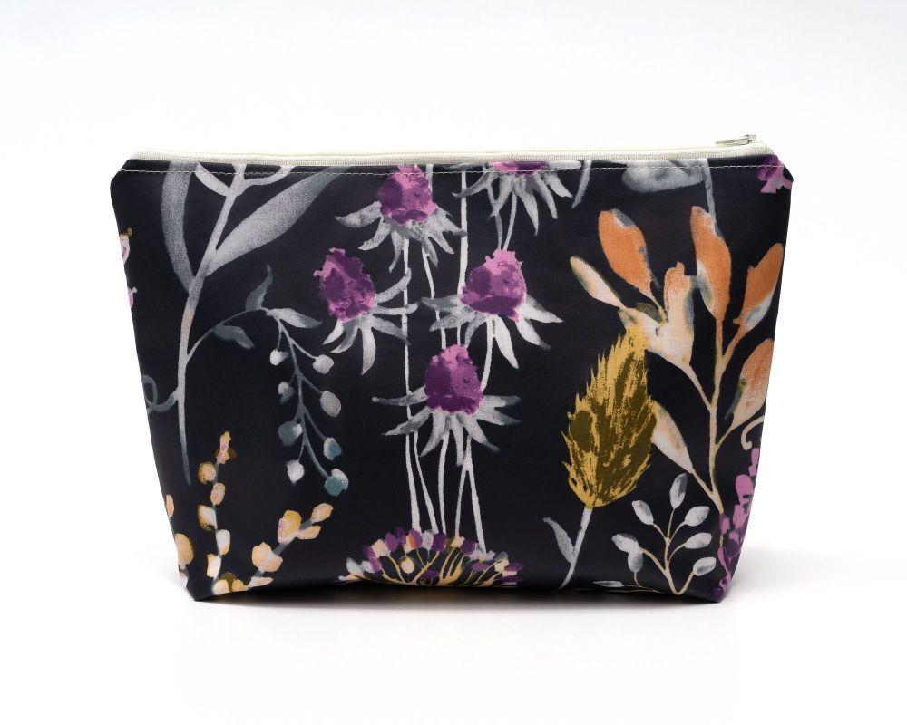 Lilies Medium Cosmetic Bag
