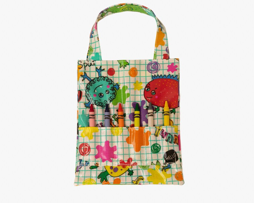 Monsters Colouring Bag