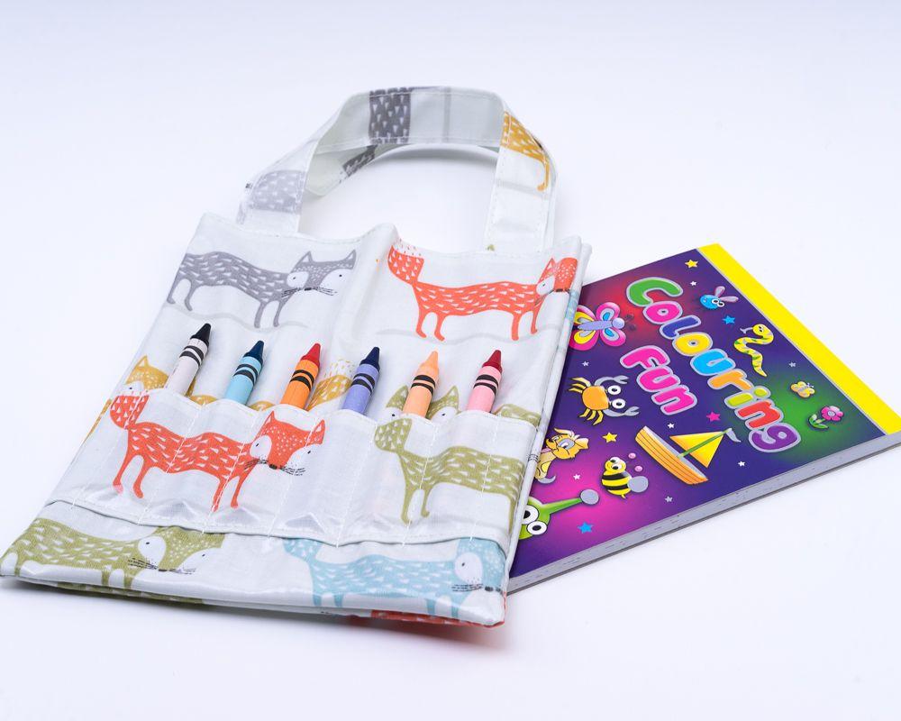 Fox Colouring Bag