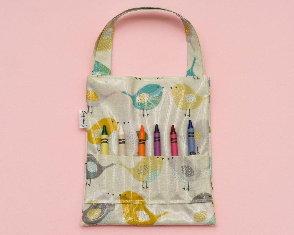 Birds Colouring Bag