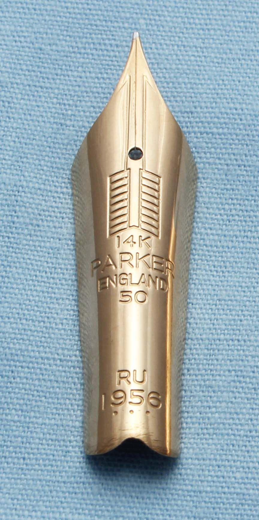 N392 - Parker Duofold Maxima #50 Extra Fine Nib