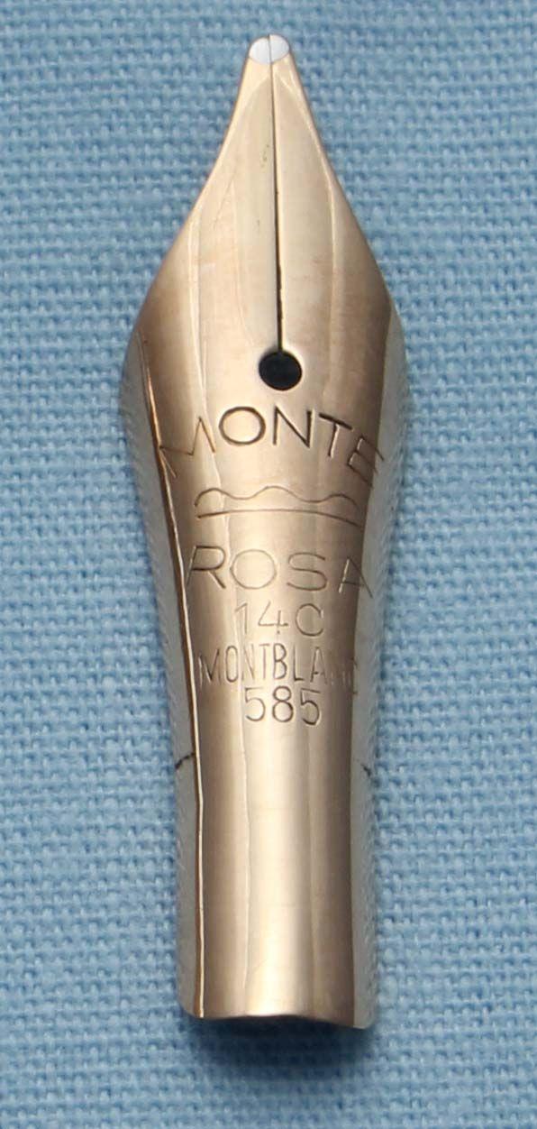 N408  - Montblanc Monte Rosa Medium Flex Nib