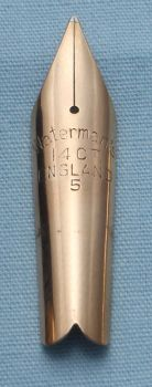 N339  - Waterman #5 Fine Flex Nib