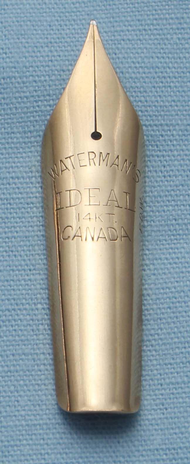 N340  - Waterman Ideal Extra Fine Flex Nib