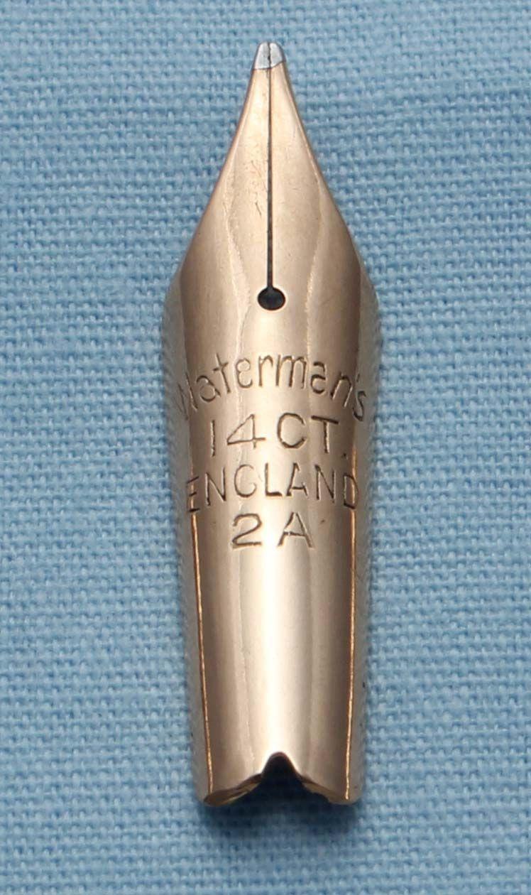 N343  - Waterman 2A Medium Flex Nib