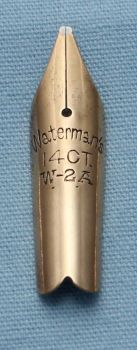 N347  - Waterman W-2A Broad Nib