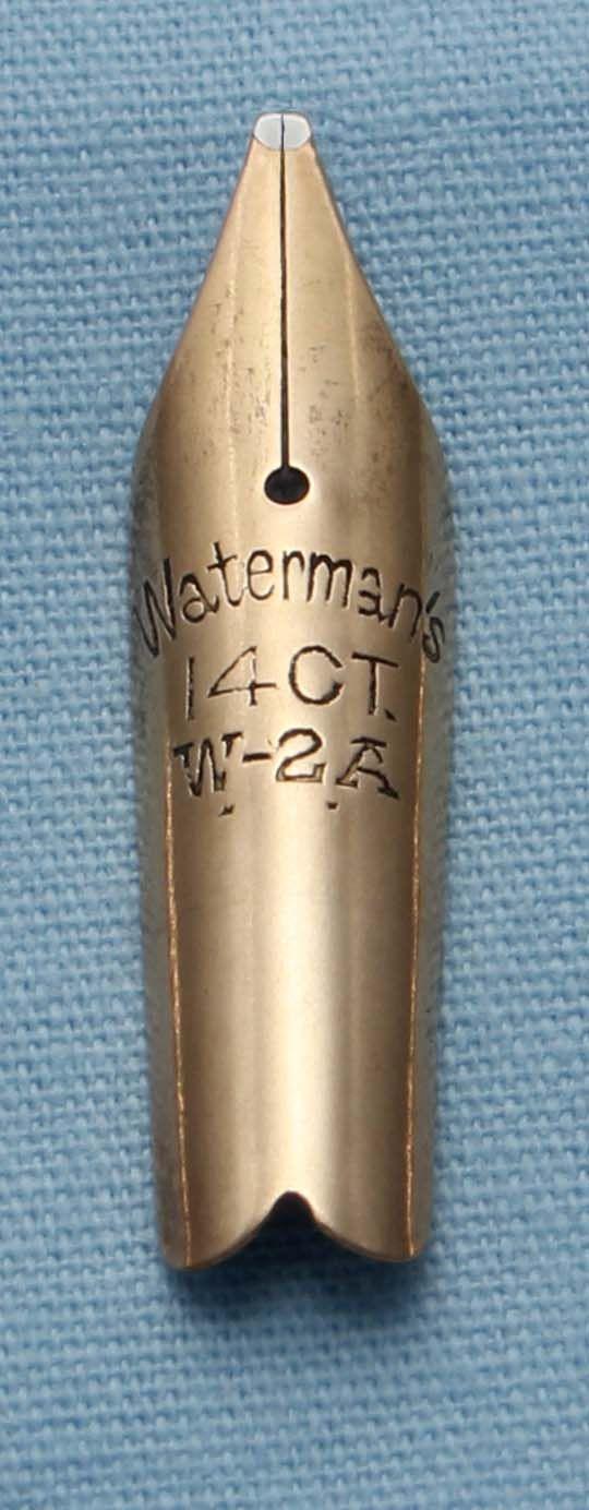 N347  - Waterman W-2A Broad Nib