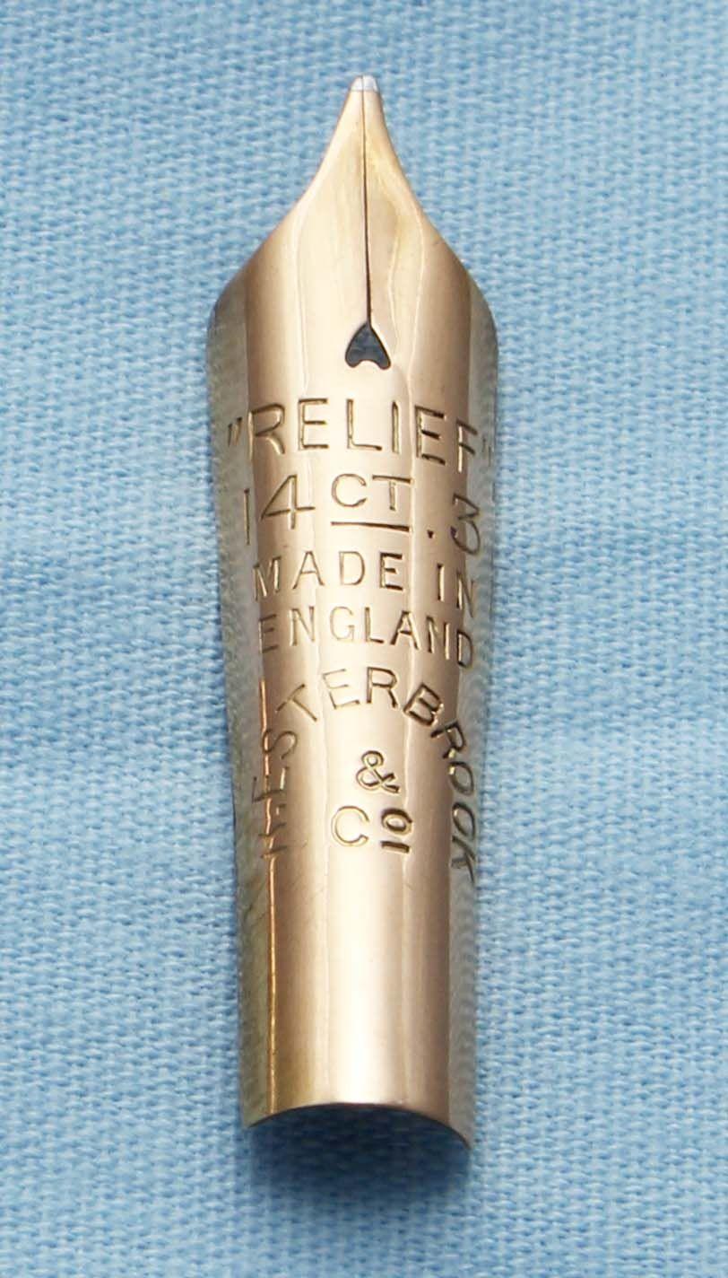 N404  - Conway Stewart Relief  No.3 Medium Nib