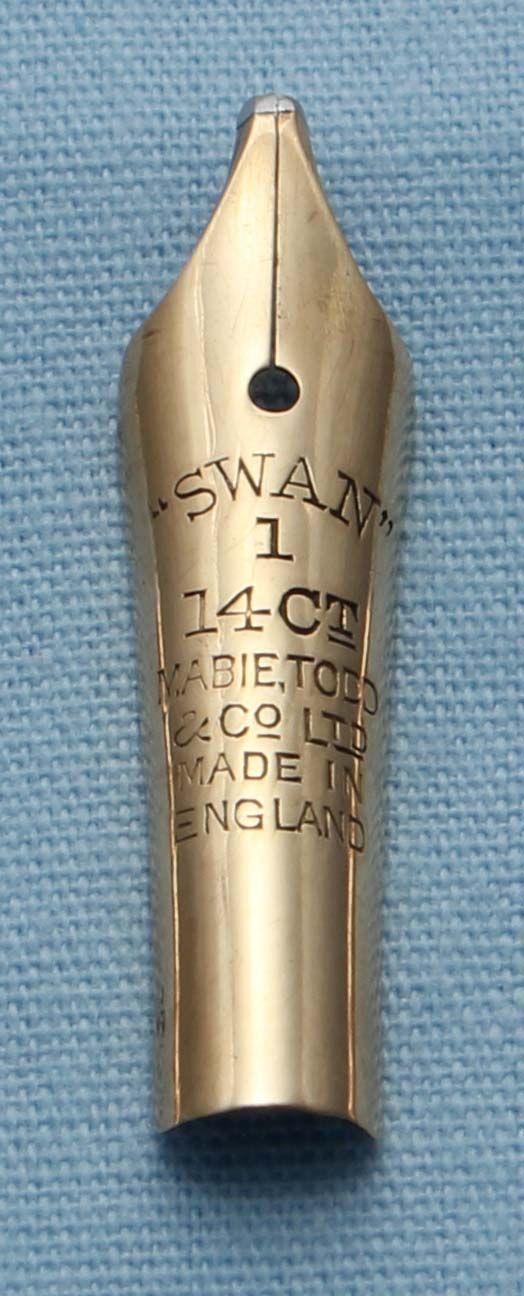 N351  - Swan #1 Double Broad Stub Nib