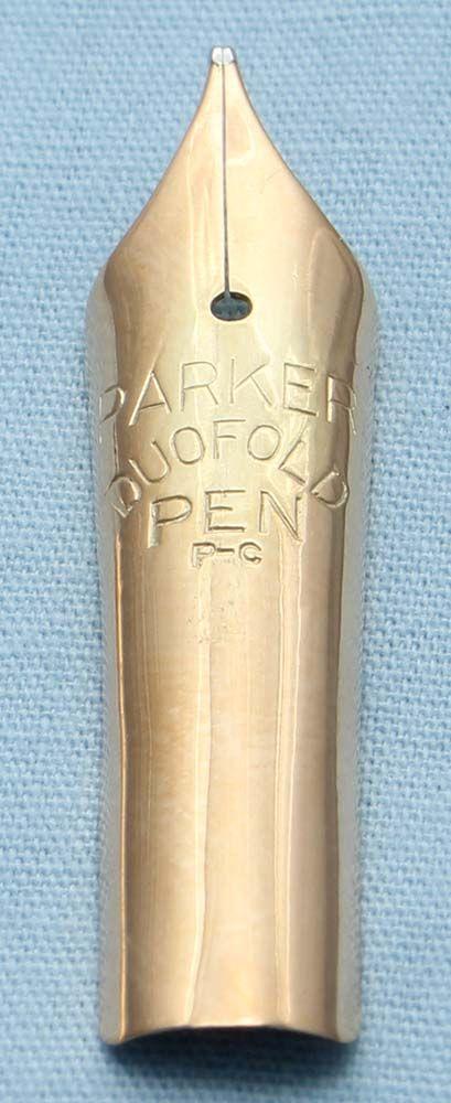 N477 - Parker Duofold Senior Medium Nib