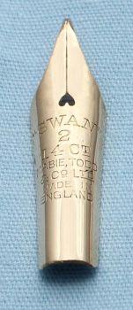 N356 - Swan #2  Medium Flex Nib
